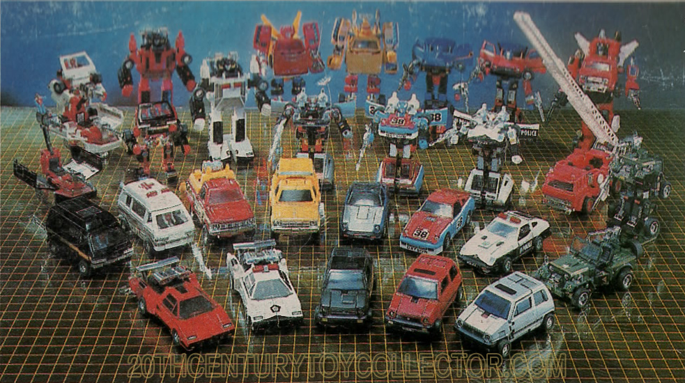 Transformers: Le origini di un mito Diaclone-car-robot-assortment