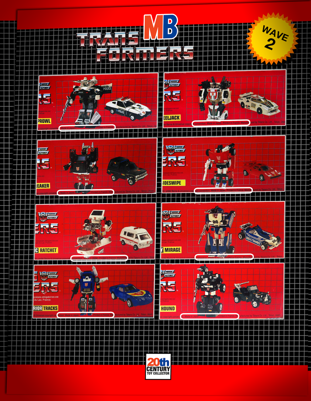 20th Century Toy Collector  MB Transformers Part 4