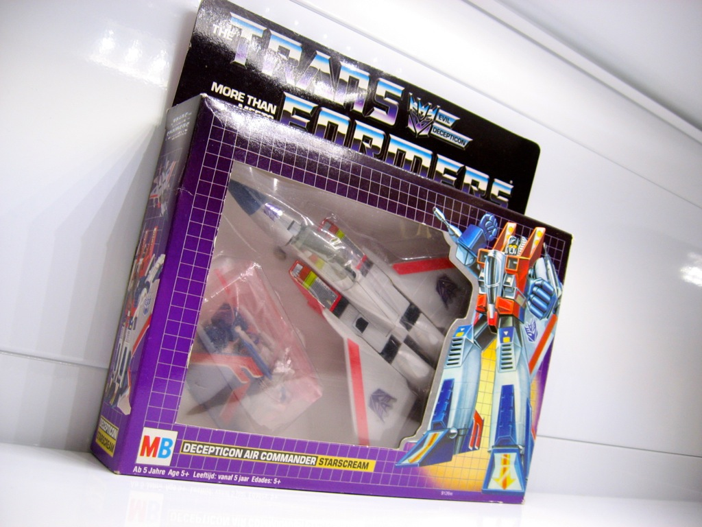 Original Starscream Toy